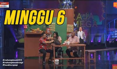 Tonton Maharaja Lawak Mega 2019 Minggu 6 Full MLM