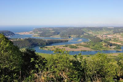 Somao, área recreativa, Monteagudo, Nalón, meandros