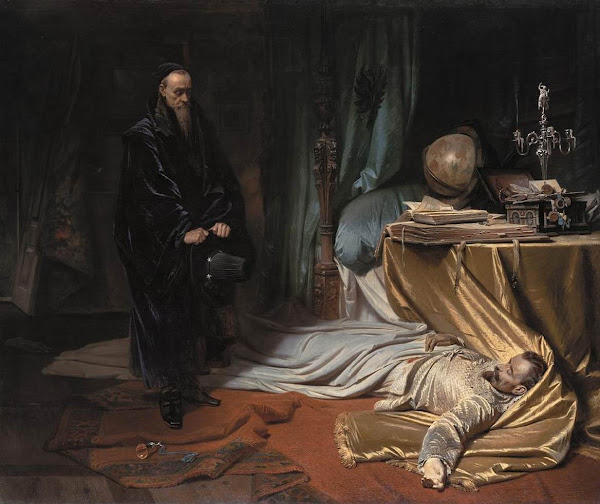 Seni at the Dead Body of Wallenstein by Carl Theodor von Piloty, Macabre Paintings, Horror Paintings, Freak Art, Freak, Paintings, Horror Picture, Terror Pictures