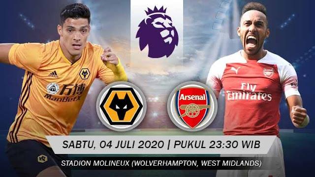 Prediksi Wolves Vs Arsenal, Sabtu 04 Juli 2020 Pukul 23.30 WIB @ Mola TV