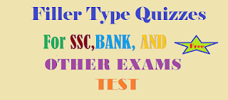 Fillers 02 For, SSC,BANK,P.O, CLERK, NDA, CPO,