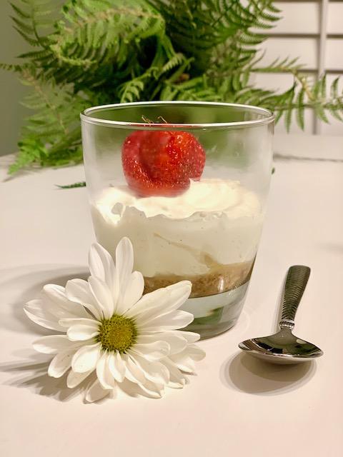 Vanilla keto cheesecake