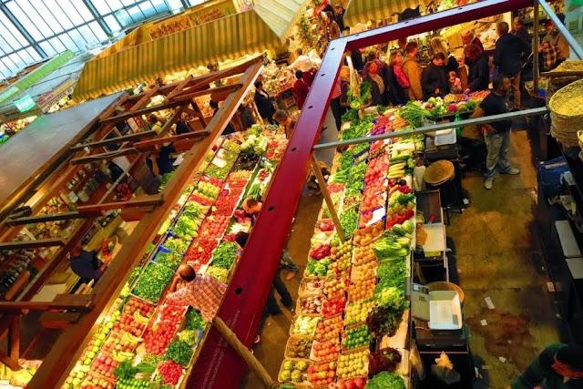 Things to do in Frankfurt: Visit Kleinmarkthalle