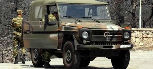 Ξάνθη: Τροχαίο με στρατιωτικό όχημα και ένα αγροτικό (ΦΩΤΟ)