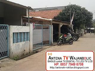 jual  ANTENA TV Bagus WAJANBOLIC Perum PAM JAYA Jatiasih Bekasi