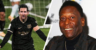 Barcelona Star Leo Messi Has eyes on two Pele records both for club and country