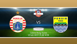 Tiket Online Persija vs Persib di Liga 1 2019