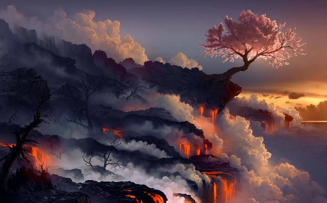 15 Nature Autumn, Forest, Park, Foliage, Sunlight Wallpapers HD 5K for Dekstop