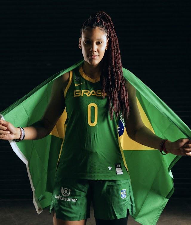 Talentos despertados: Ex-atendida pela LBV, Kamilla Cardoso foi destaque na estreia na seleção brasileira de basquete