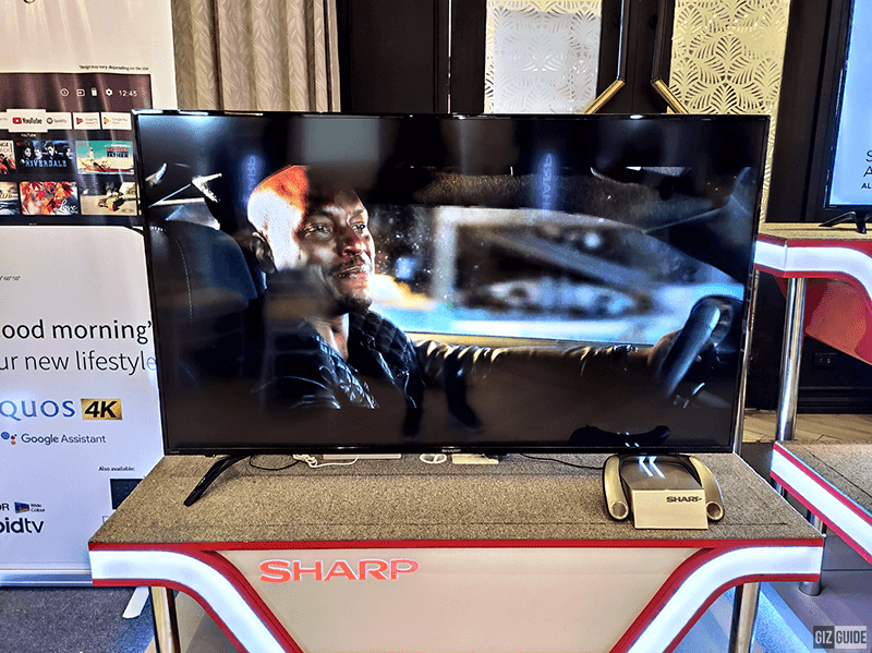 Sharp's Full HD Android TV with AIoT
