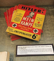 Mein Kampf in exhibition case