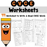 Silent E Worksheets CVCE