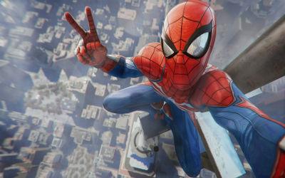 Spider Man Game Playstation 4 - Fond d'Écran en Ultra HD 4K 2160p