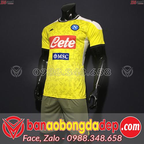 Áo Napoli Màu Vàng 2020 Training 2