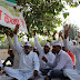 All India Pradhan Sangathan stages Dharna for Fund, Function and Functionaries power