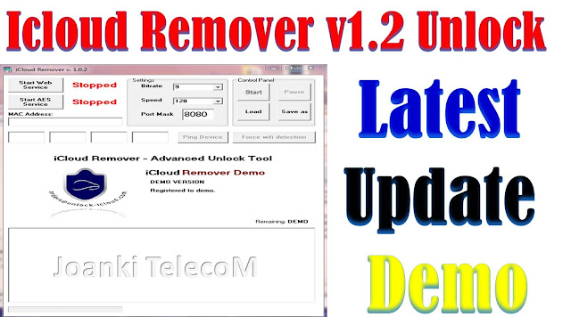 Download iCloud Remover v1.0.2 Advanced Unlocked Tools Free By Jonaki TelecoM
