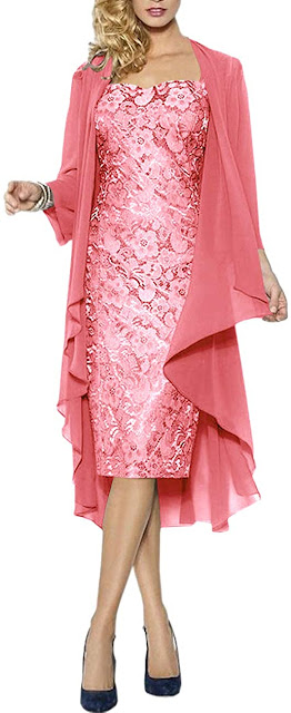 Affordable Knee Length Short Mother of The Bride Dresses