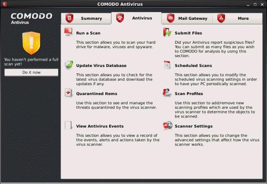 Comodo Antivirus Untuk Linux