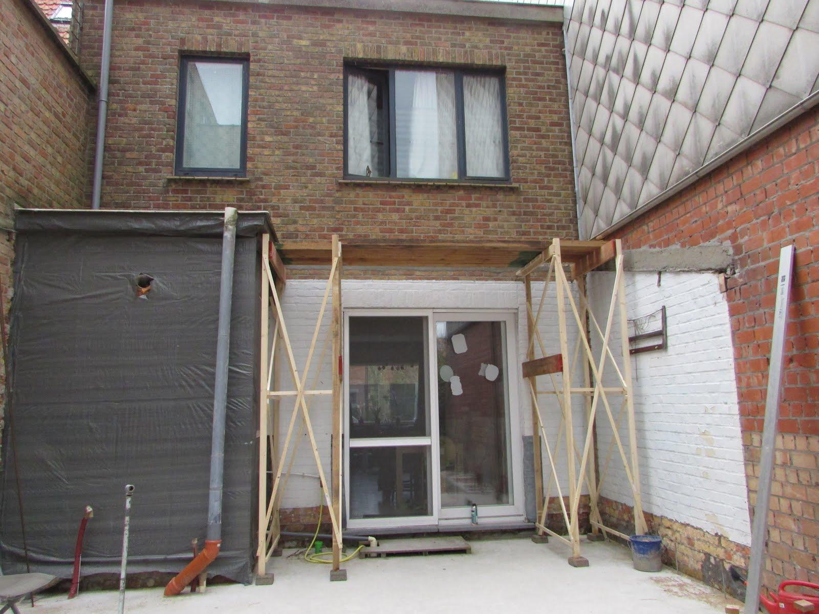 Verbouwing van ons ouderlijk huis stelling geplaatst - Stenen huis uitbreiding ...