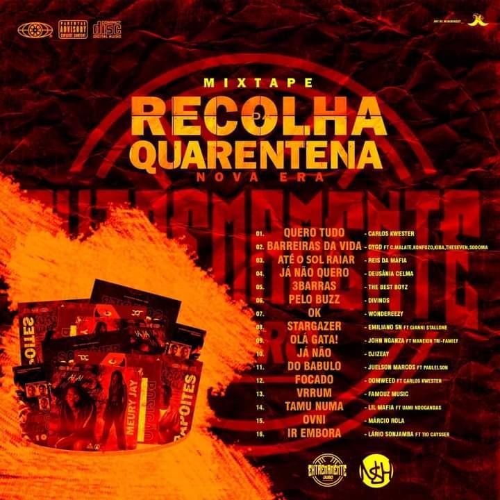 """Extremamente Duro lança mixtape """"Escolha da Quarentena"""" com rappers da nova Geração"""