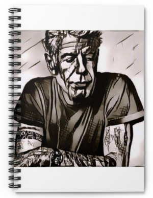 The ANTHONY BOURDAIN TRAVEL JOURNAL