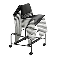 Mayline Escalate Stack Chairs