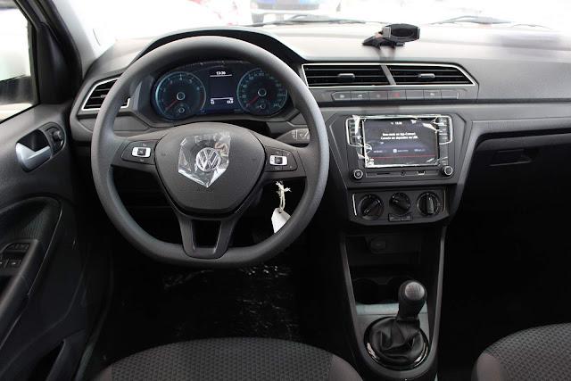 Novo VW Gol 2019 - painel