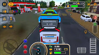 Game Simulasi Bus Android - Mobile bus simulator