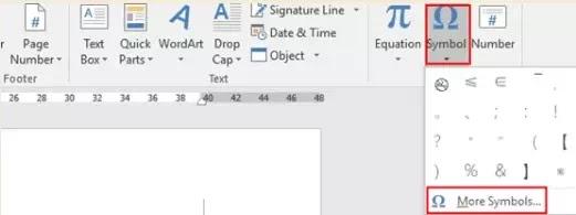 Cara Menyisipkan Simbol Matematika di Word-1