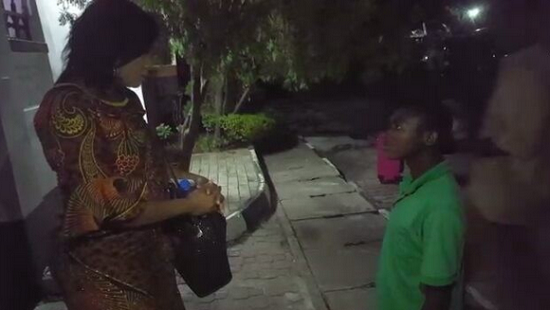 1 VIDEO: Omotola Jalade meets a young boy who calls himself her spiritual son Entertainment video