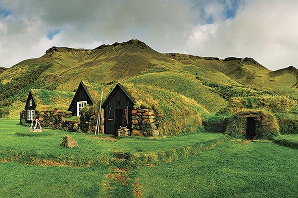 Casas na Islândia
