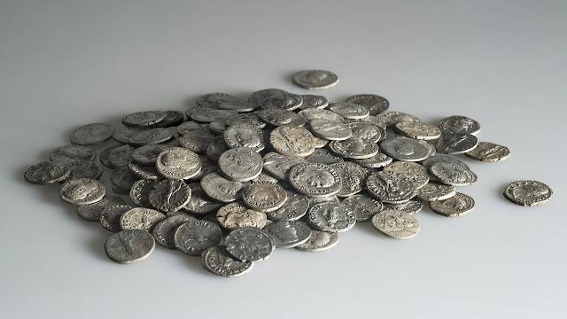 Roman silver coin hoard found in Switzerland