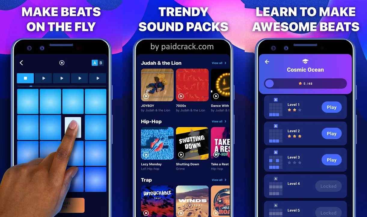 Drum Pads - Beat Maker Go Premium Mod Apk 2.24
