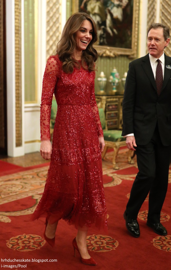 duchess kate duchess kate in sparkling red needle thread dress for uk africa investment summit reception duchess kate in sparkling red needle