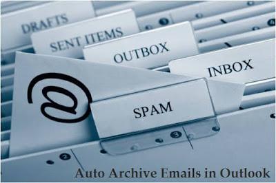 تعرف, على, طريقة, نقل, رسائل, البريد, الالكتروني, أوت, لوك, الى, الارشيف