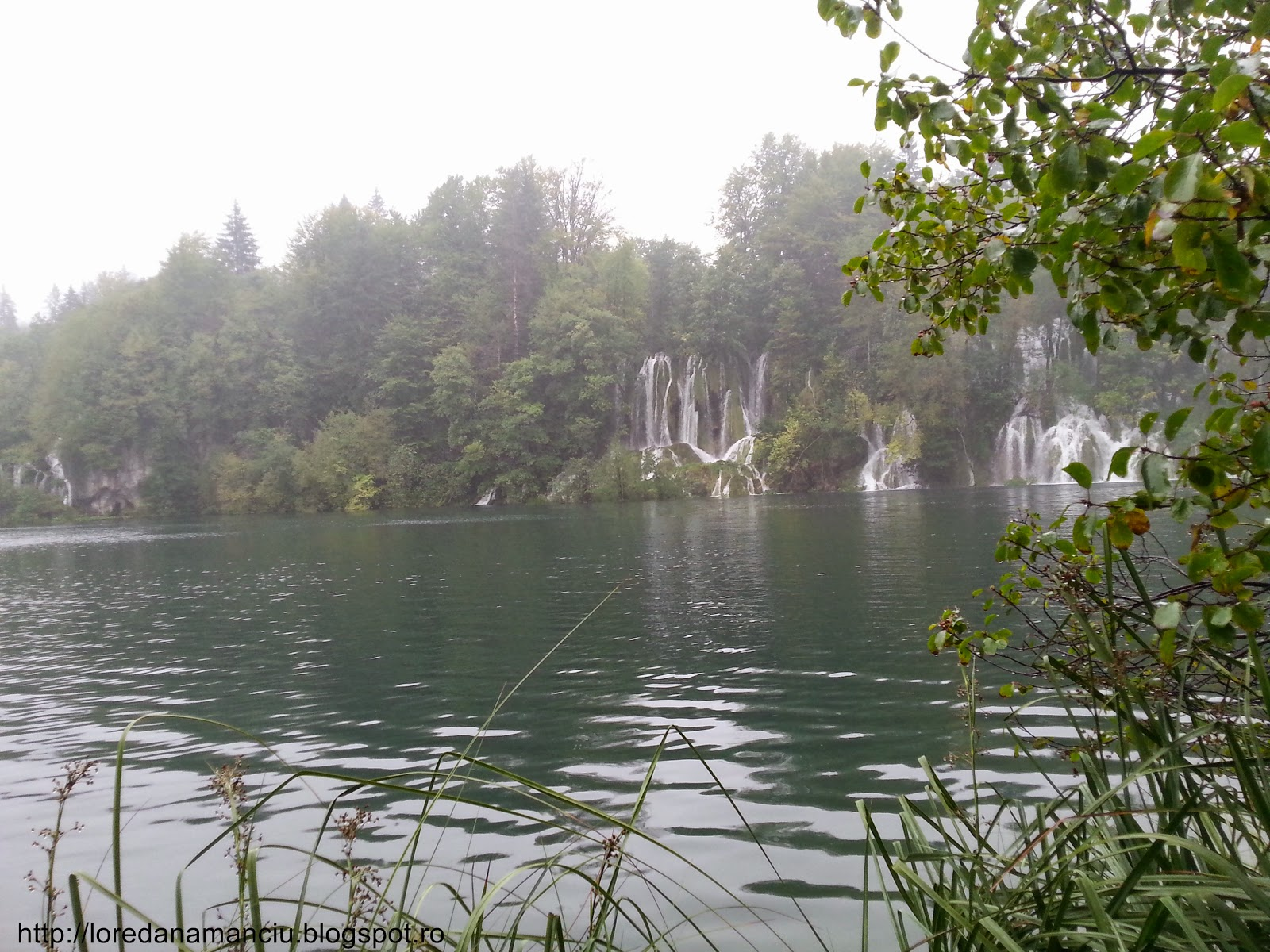 Amazing natural park Plitvice - waterfalls
