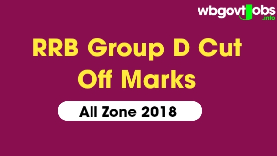 RRB Group D Cut Off 2018 Kolkata, All Zone ( Official)