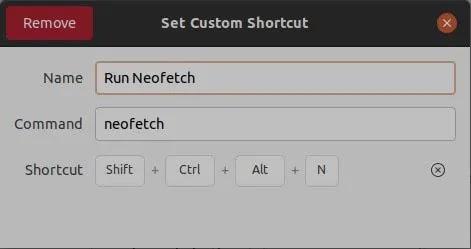 مفاتيح Remap Gnome لإزالة الاختصار