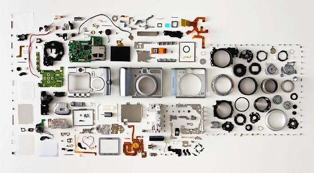 camera pieces