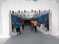 Wahana Salju Pekan Raya Lampung 2019, Panitia: sebentar lagi siap dibuka