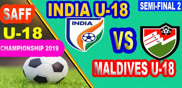 India U18 vs Maldives U18 Live