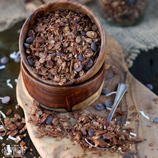 Double Chocolate Peppermint Granola