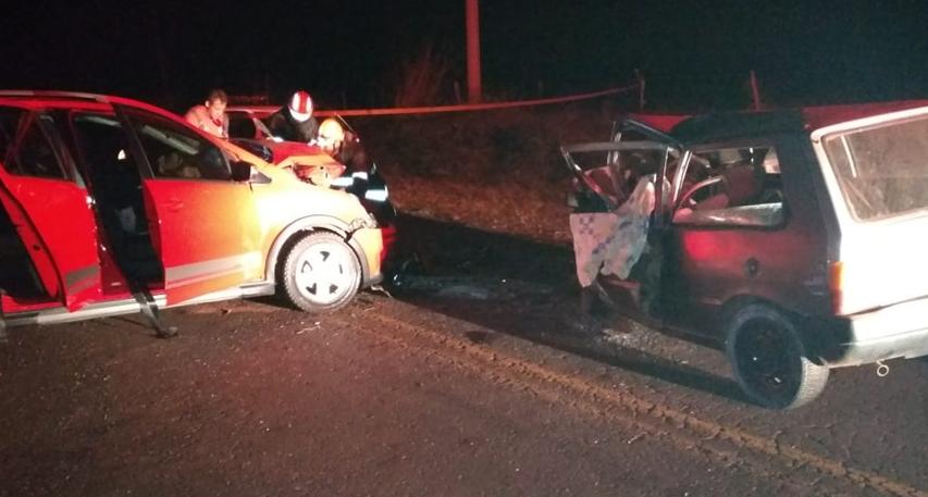 Acidente entre Olímpia e Tabapuã deixa uma pessoa morta e quatro feridos