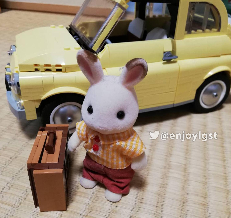 レゴ(LEGO)レビュー:10271 フィアット500:ルパン三世の愛車でおなじみ!