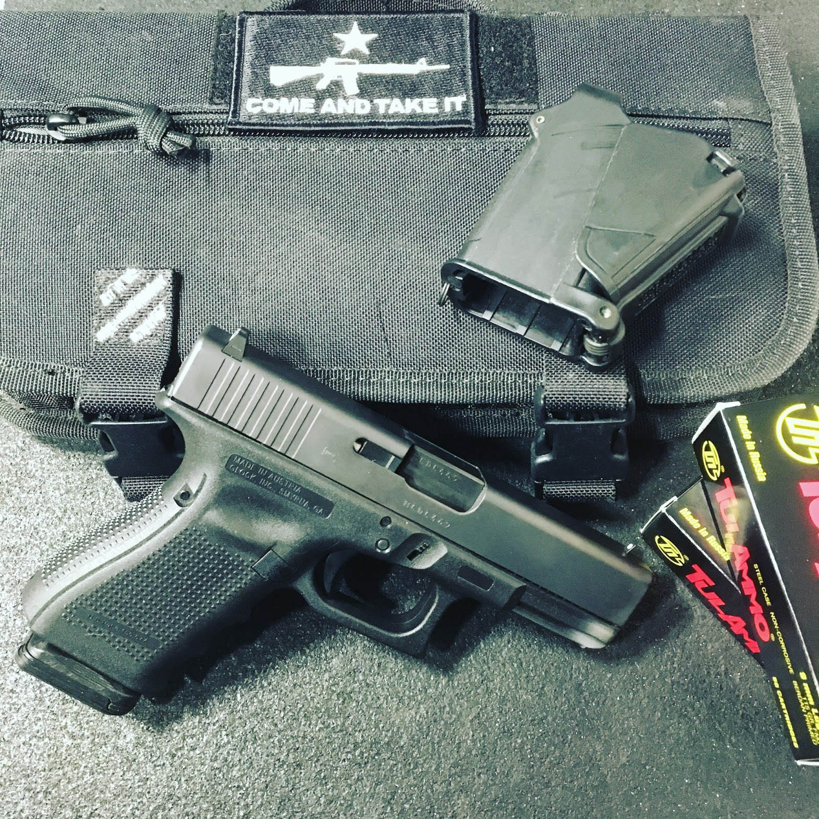 Yesterday morning dawned with a case of tulammo 115gr fmj being dropped off on the front porch the gen4 19 had already seen five hundred and fifty rounds