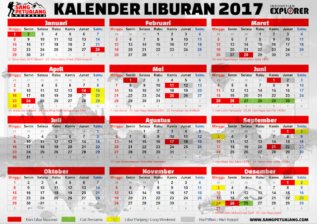Kalender Liburan 2017