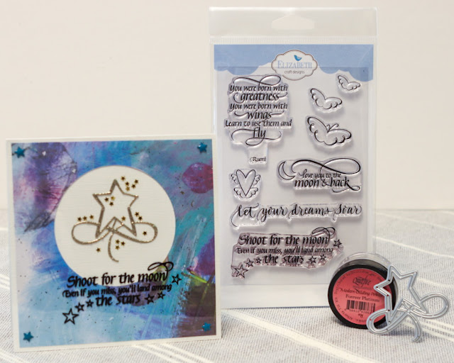 Soar collection / Flourished Christmas Minis 2 / Forever Platinum Gilding Powder / Kim Gowdy