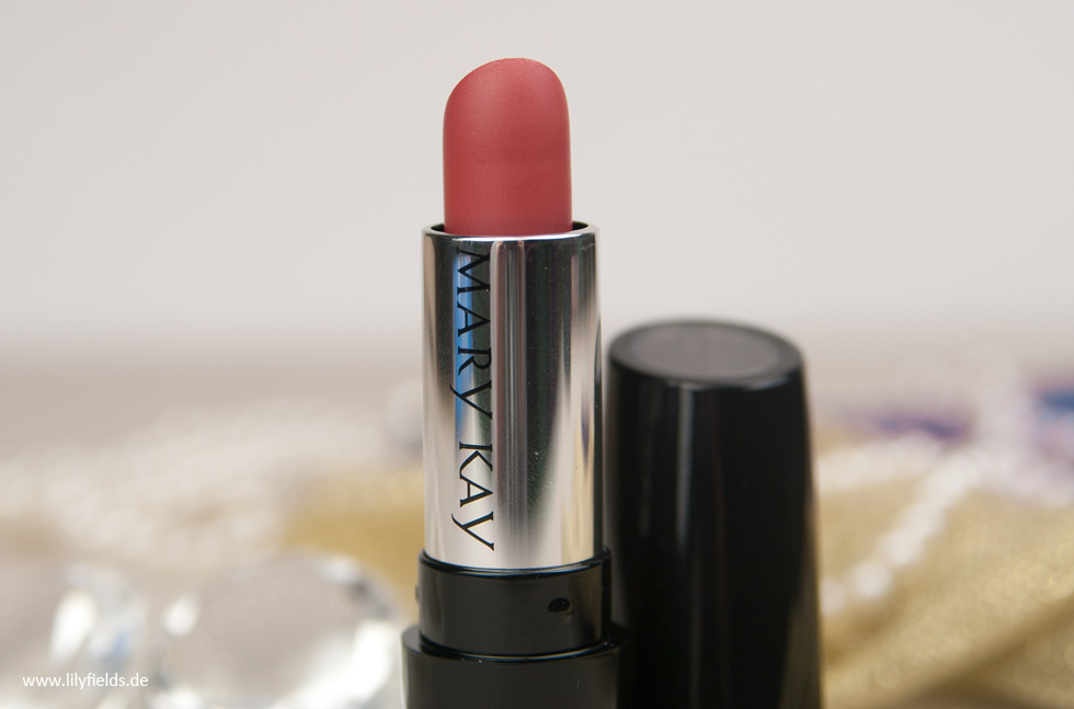 "Mary Kay - Gel Semi-Shine Lipstick ""Tranquil Toffee"" Review"
