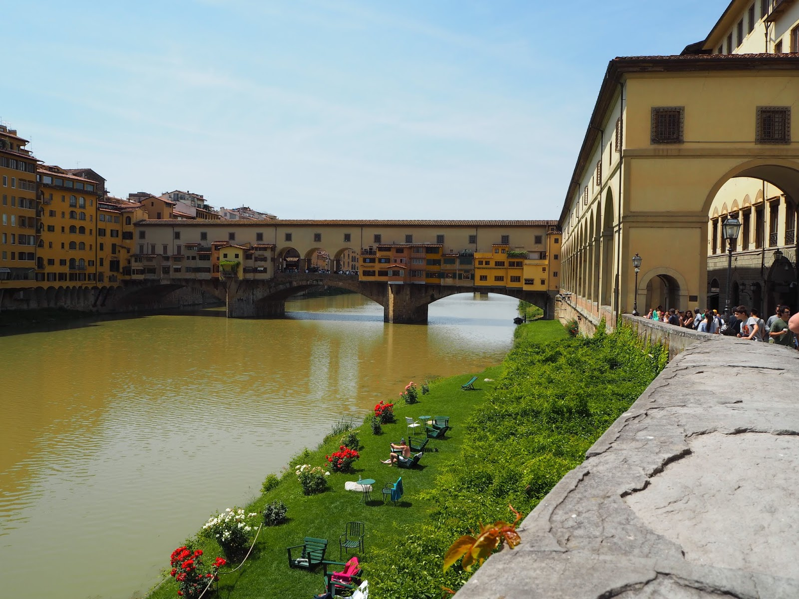 ponte vecchio in beautiful florence