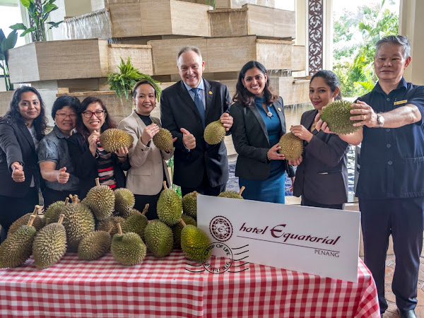 All You Can Eat Kampung Durian Buffet at Hotel Equatorial for RM 40nett